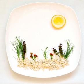 Mit Essen spielt man nicht oder Food Art?