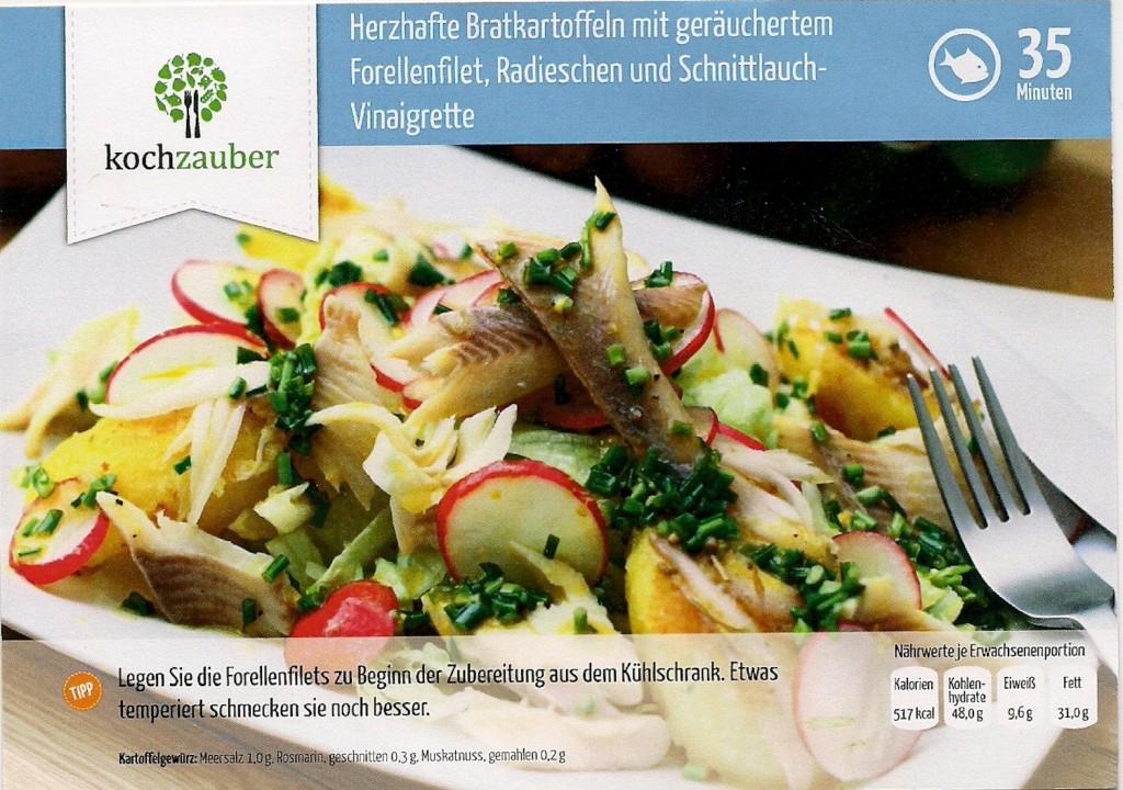 Front Kartoffelsalat