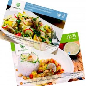 Zauberei die Zweite (und Dritte): Veggie Curry und Bratkartoffelsalat mit Forelle