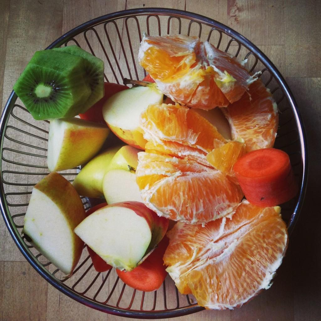 Obst für Frühstückssaft