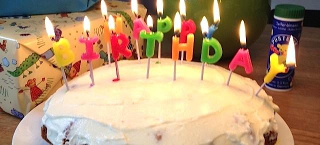 Geburtstagskuchen für Einjährige