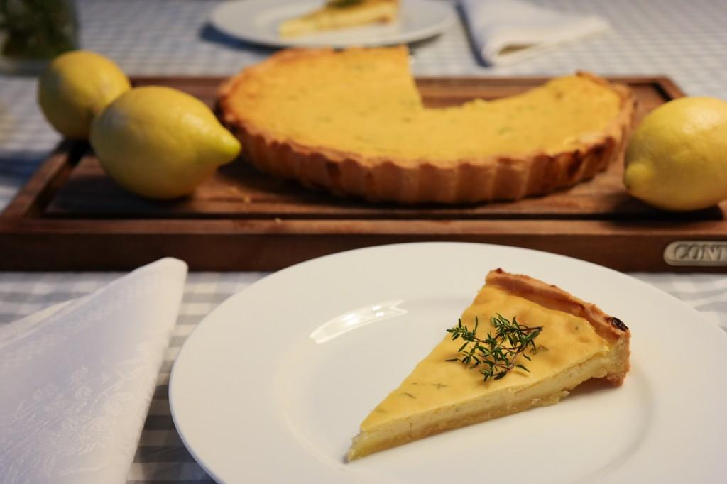 Zitronen-Thymian-Tarte