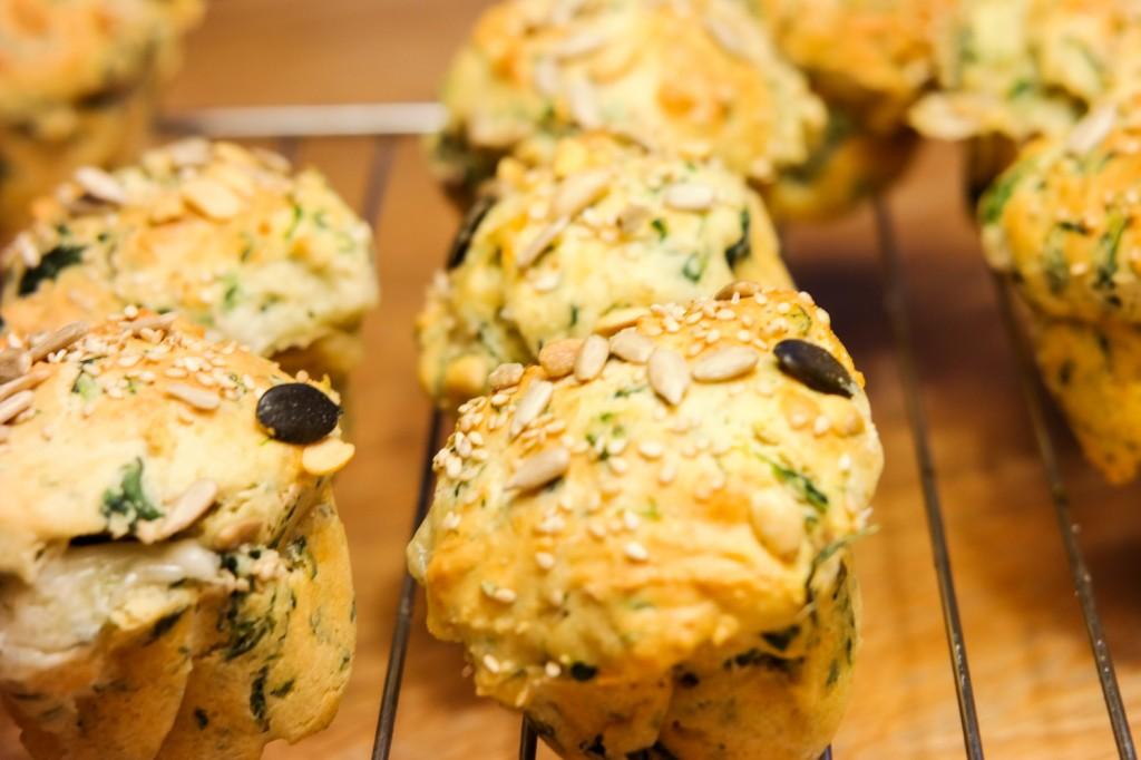 Muffins auf Rost