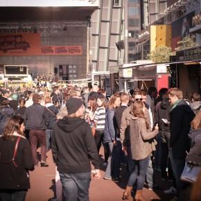 Foodtrucks meet Hamburger Hafen