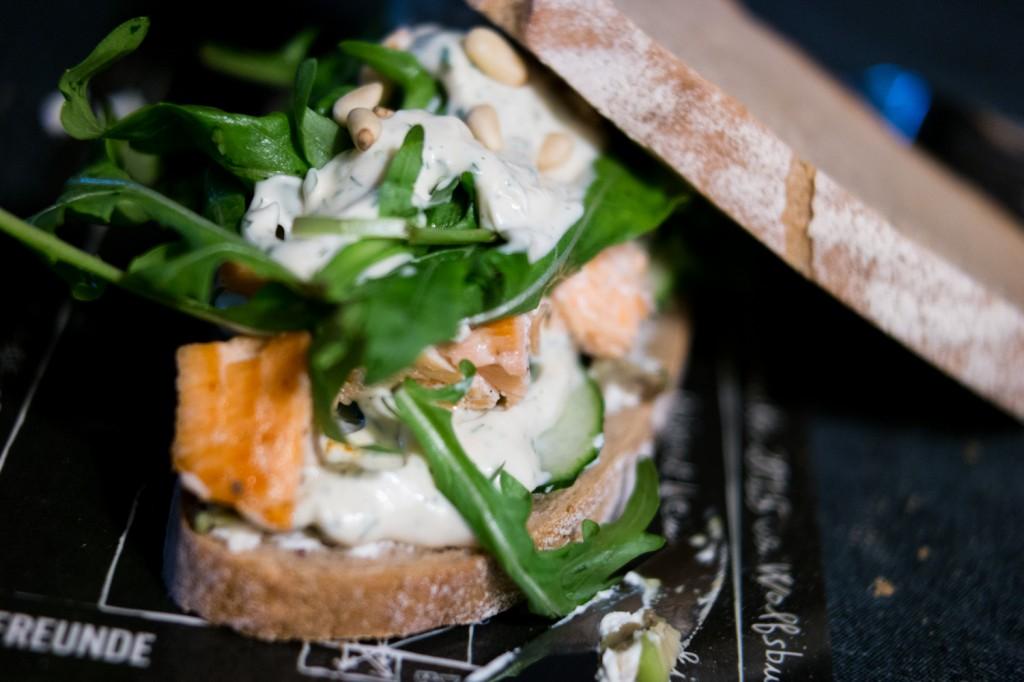 Lachs-Avocado-Sandwiches