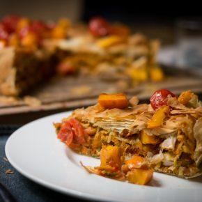 Hähnchen-Kürbis-Pastilla